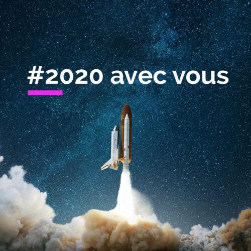 Notre année 2020 avec vous